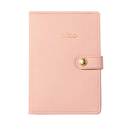 "Sincerely A Collection by C.R. Gibson® Notes Leatherette Journal, 8 1/4"" x 5 3/4"", 160 Pages, Blush"