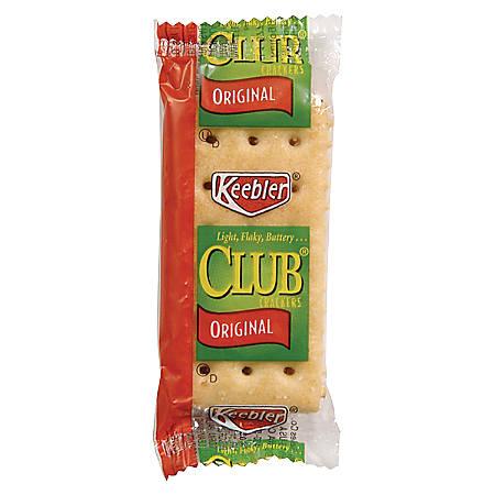 Keebler&reg Club&reg Crackers Original - Packet - 2 - 300 / Carton
