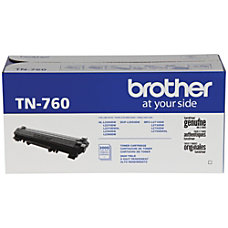 Brother TN 760 High Yield Black
