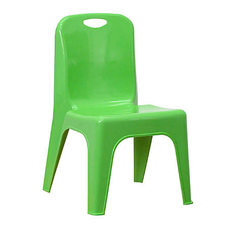 Flash Furniture Stackable School Chair, Green