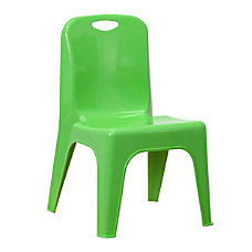 Flash Furniture Stackable School Chair Green