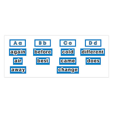 """Scholastic Word Wall Word Cards — High Frequency Words, Level 2, 8 1/2"""" x 11"""", Pack Of 120 Word Cards"""