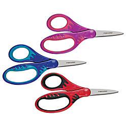 Fiskars Softgrip Precision Tip Kids Scissors