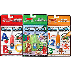 Melissa Doug Water Wow Animals Alphabet