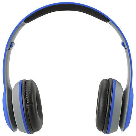 iLive Electronics IAHB38 Bluetooth® Over-The-Ear Headphones, Blue