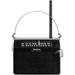 Sangean FM AM Compact Analogue Tuning