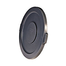 Rubbermaid Round Brute Container Lid Gray
