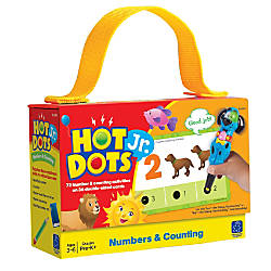 Learning Resources Hot Dots Jr Numbers