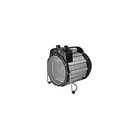 Optimus Portable Utility / Shop Heater with Thermostat - Ceramic - Electric - 750 W to 1500 W - 2 x Heat Settings - Portable