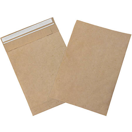 "Office Depot® Brand Kraft Self-Seal Padded Mailers, #5, 10 1/2"" x 16"", Pack Of 25"