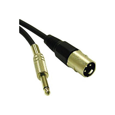 C2G 6ft Pro-Audio XLR Male to 1/4in Male Cable