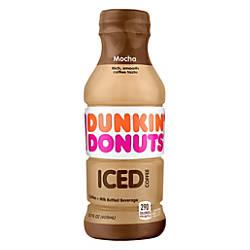 Dunkin Donuts Iced Coffee Mocha 137