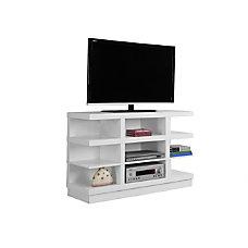 Monarch Specialties TV Stand Open Concept