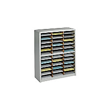 Safco Value Sorter Steel Corrugated Literature