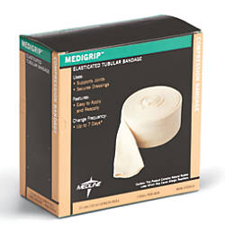 Medline Medigrip Tubular Bandage Roll Size