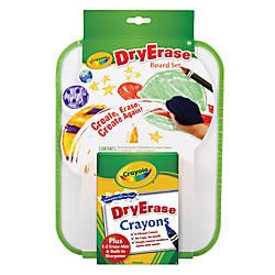 Crayola Dry Erase Crayons With Board