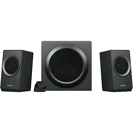 Logitech Z337 2.1 Bluetooth Speaker System - 40 W RMS - Bluetooth - Wireless Audio Stream