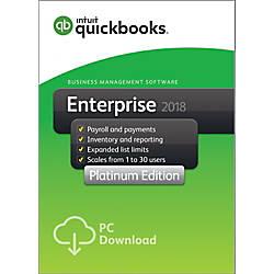 QuickBooks Desktop Enterprise Platinum 2018 3