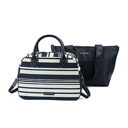 Rachael Ray® Insulated Satchel And Tote Combo, Navy