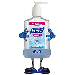 Purell Pal Desktop Holder With 8