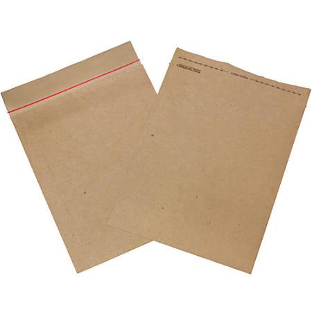 """Jiffy Rigi Bag®, 12 1/2"""" x 15"""", Kraft, Pack Of 100"""