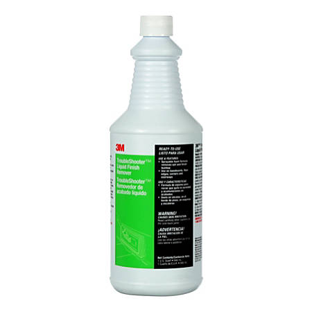 3M™ TroubleShooter™ Liquid Finish Remover, 32 Oz, Case Of 6