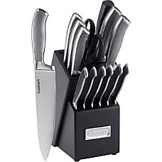 Cuisinart Stainless Steel Cutlery Block Set