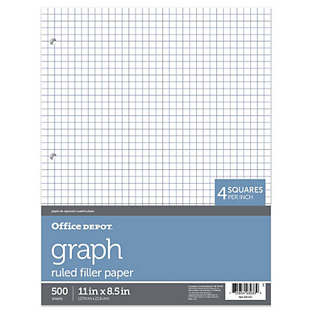 office depot brand quadrille ruled notebook