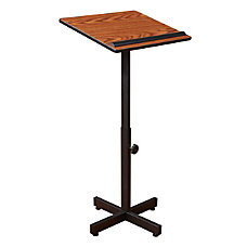 Oklahoma Sound Portable Presentation Lectern Stand