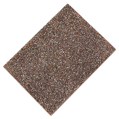 "Rubbermaid® Commercial Landmark Series® Stone Trash Can Panels, 27 15/16""H x 15 3/4""W x 3/8""D, Brown Stone, Pack Of 4"