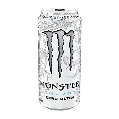 Monster Zero Ultra Energy Drink, 16 Oz