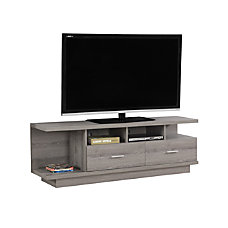 Monarch Specialties TV Stand Open Concept