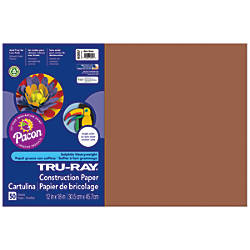 Tru Ray 50percent Recycled Construction Paper