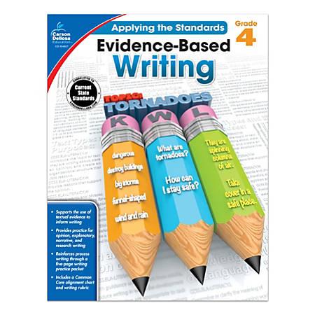 Carson-Dellosa™ Evidence-Based Writing Workbook, Grade 4