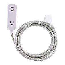 Cordinate USB Charging Extension Cord With