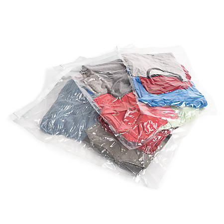 "Samsonite® Compression Bag Kit, 3 Pieces, 27 1/2""H x 19 1/2""W x 1/2""D, Clear"