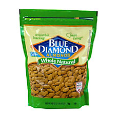 Blue Diamond Natural Almonds 40 Oz