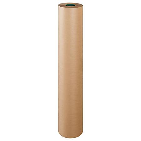 "Office Depot® Brand Poly-Coated Kraft Paper, Roll, 48"" x 600', Kraft"