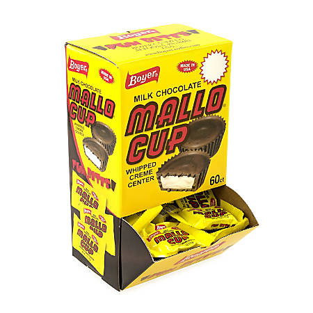 Boyer Mallo Cup Box, 0.5 Oz, Pack Of 60