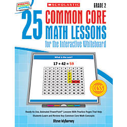 Scholastic 25 Common Core Math Lessons