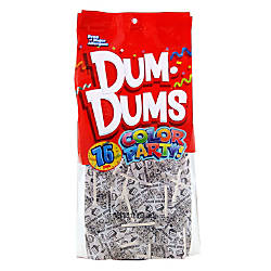 Dum Dums Birthday Cake Lollipops Party