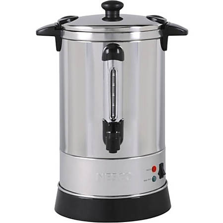 NESCO® 30-Cup Electric Coffee Urn, Stainless Steel