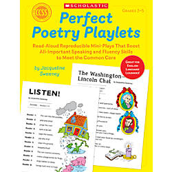 Scholastic Perfect Poetry Playlets Grades 3