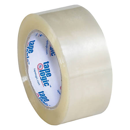 "Tape Logic® Acrylic Tape, 3"" Core, 2"" x 110 Yd., Clear, Pack Of 36"