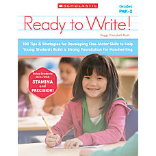 Scholastic Ready To Write Activity Book