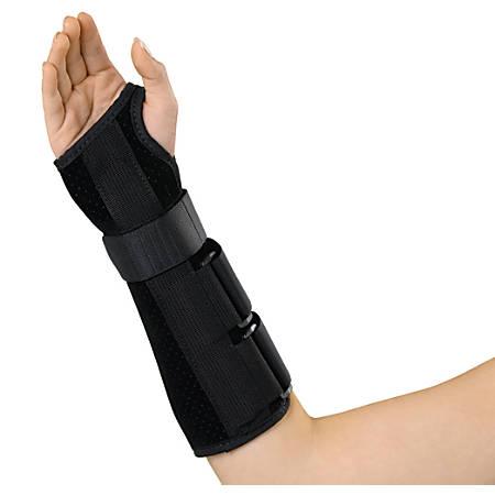 "Medline Deluxe Wrist/Forearm Splint, Right, Small, 10"""
