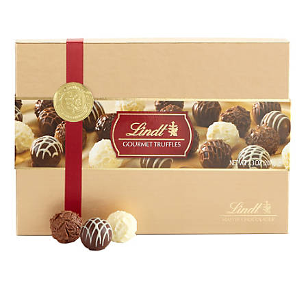 Lindt Chocolate, Truffles, Gold Gifting, Box Of 13