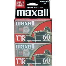 Maxell 109024 Audio Cassette