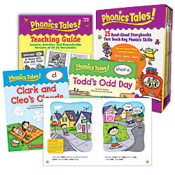 Scholastic Phonics Tales 16 Pages Per