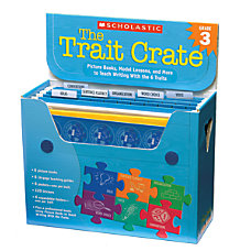 Scholastic The Trait Crate Grade 3